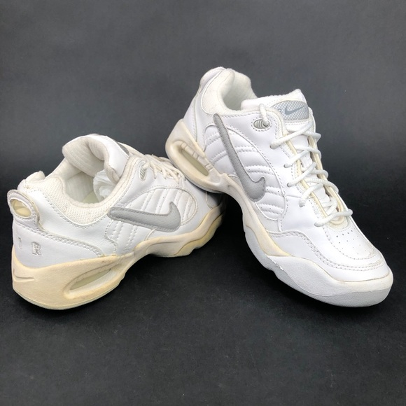 Vintage 90s Nike Air Running Shoes White Mens 6.5